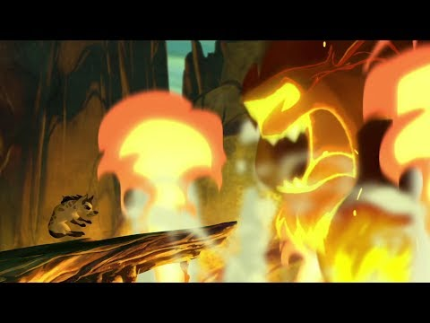 Lion Guard: The Failed Attack & Scar's Anger   The Hyena Resistance HD Clip