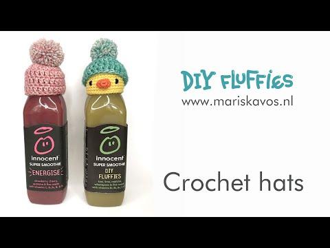 Crochet hat for innocent bottle Big Knit