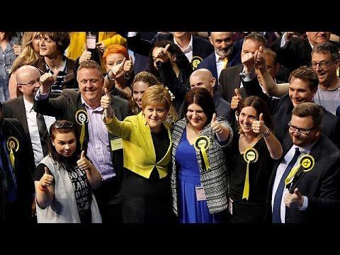 Σκωτία: Αισιόδοξη για τις εκλογές η Νίκολα Στέρτζεον