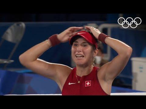 🎾 Bencic wins Olympic gold, Carreno Busta beats Djokovic for bronze | #Tokyo2020 Highlights