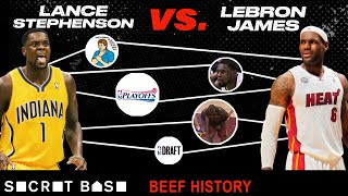 Video Lance Stephenson didn't follow in LeBron's footsteps, so he spent 6 years bugging him | Beef History MP3, 3GP, MP4, WEBM, AVI, FLV September 2019
