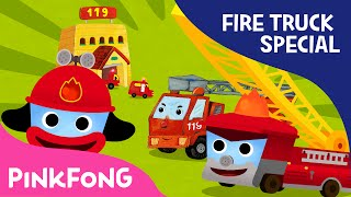 Video Fire Truck SPECIAL | Car Songs & Stories & Mini Games | + Compilation | PINKFONG Songs for Children MP3, 3GP, MP4, WEBM, AVI, FLV Juli 2017