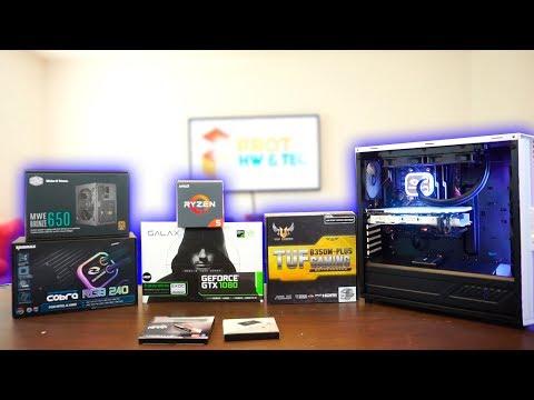 Ensamblando PC Gamer con GTX 1080 GALAX - Proto Hw & Tec