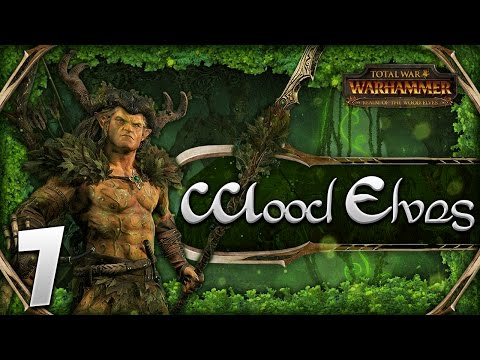 GUARDIAN OF THE GLADE! Total War: Warhammer - Wood Elves Campaign #7