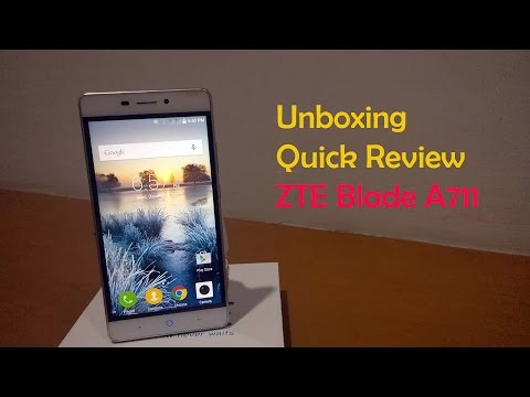 Unboxing & First Impression ZTE Blade A711/X9 Indonesia