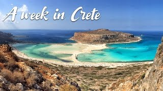 Video from our trip to Crete, we've been traveling by car across the whole island. 8 days during October 2016. Places: - Chania...