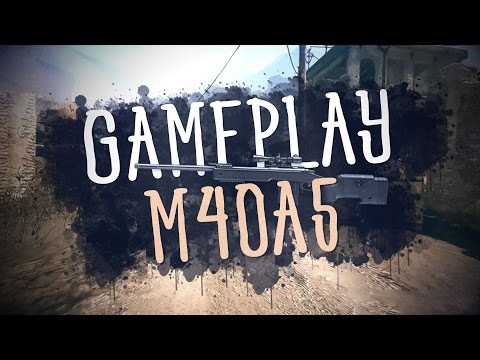Gameplay M40A5 [Azot2033]