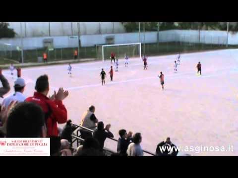 Preview video <strong>LATIAS - GINOSA 2-3  Vittoria di carattere del Ginosa a Latiano</strong>