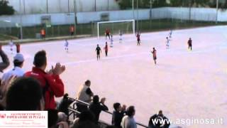 Preview video <strong>LATIAS - GINOSA 2-3  Vittoria di carattere del Ginosa a Latiano</strong>