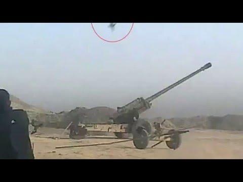 大概就是活該拉!!-當IS準備向無辜者發射炮彈時,下一秒悲劇發生了!