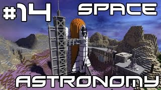 Minecraft Space Astronomy - The Tree Wall! #14