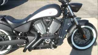 7. 2012 Victory High Ball / Zoomies Exhaust / S&S Air Intake / LED Turn signals / Sissy Bar