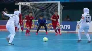 Video [Highlights] AFC Women's Futsal Championship Malaysia 2015 - Match #4 IR IRAN V HONG KONG MP3, 3GP, MP4, WEBM, AVI, FLV Mei 2019