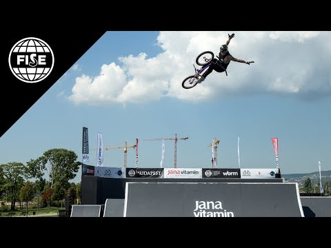 FISE Budapest 2017: UCI BMX Freestyle Park World Cup Men Semi Final - REPLAY (видео)