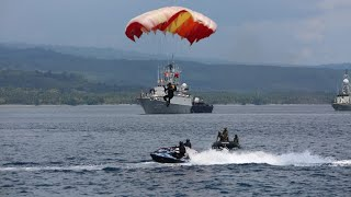 Video Attractions of the Indonesian Navy Special Forces on Nusantara Day 2018 [FULL HD] MP3, 3GP, MP4, WEBM, AVI, FLV Desember 2018