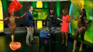 Sydney Mentalist BLOWS TV hosts minds LIVE on Channel Seven's Morning Show - Kylie Gillies AMAZED!
