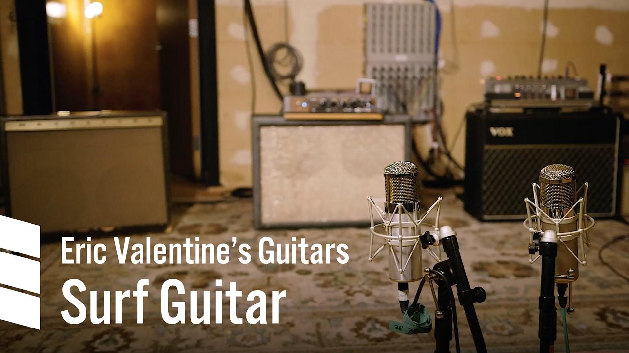 Eric Valentine's Electric Guitars — Surf Guitar