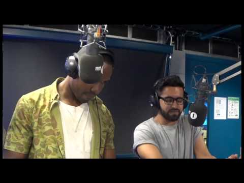 BurbanNation - G FrSH & RKZ team up over an Asian beat live on the Nihal show. Listen to the full show here - http://bbc.in/12ExQyR (The beat is 'Algoze Players' - supplied...