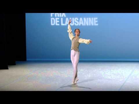 Jarod Curley - 2015 Prix de Lausanne Finalist - Classical variation