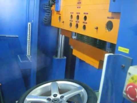 Проверка прочности диска WSP Italy W1257 NORD на удар спицы (Volvo)