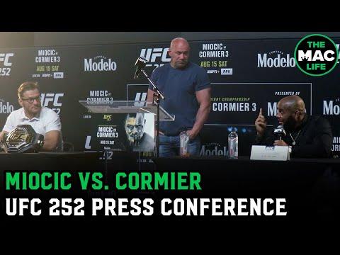 Stipe Miocic and Daniel Cormier talk personal rivalry | UFC 252 Press Conference
