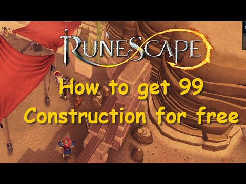 How to get 99 Construction for free and make profit! Money Making Guide Runescape 2014