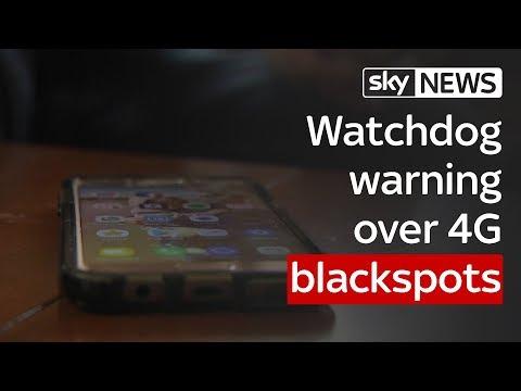 Watchdog warning over 4G blackspots