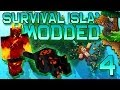 Minecraft: Modded Survival Island Let's Play w/Mitch! Ep. 4 - NETHER MODS!