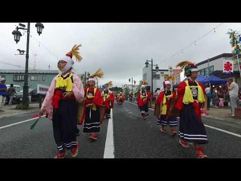千厩夏まつり2017 千厩小学校「鬼剣舞」