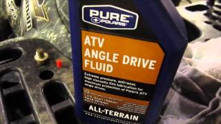 9. How to Change the Front Gear Case Oil in a Polaris Sportsman ATV Differential
