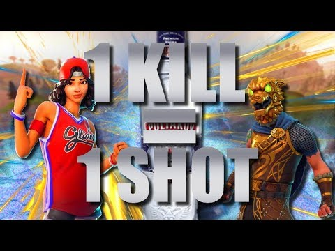 1 KILL = 1 SHOT ! FORTNITE !