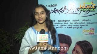 Sri Divya at Vellaikaara Durai Movie Press Meet