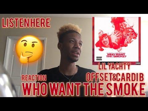 CARDI B , Lil Yachty , Offset - WHO WANT THE SMOKE? Audio Nicki Minaj  Kashdoll diss? REACTION