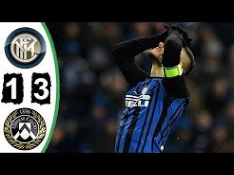 Inter de Milão 1 x 3 Udinese   Melhores Momentos   Campeonato Italiano 16 12 2017 HD