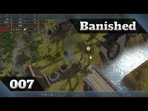 Terra - Banished Ep07 - Fazendo a área de fundição: iron, bricks e building supliers[Pt/BR]