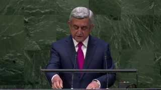 President Serzh Sargsyan's visit to US for the 69th session of the UN General Assembly