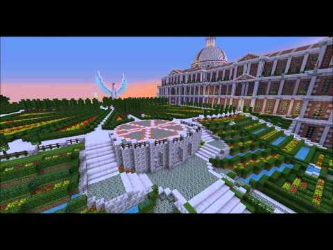 Minecraft Huge Medieval City Map Download