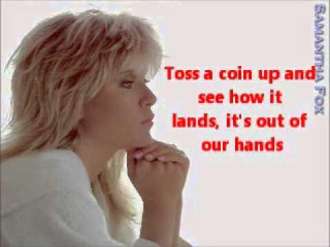 Tekst piosenki Samantha Fox - Out Of Our Hands po polsku