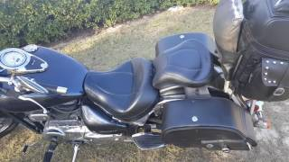 4. 2004 Suzuki Volusia 800 Motorcycle Saddlebags Review - vikingbags.com