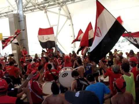 Caracas FC - Mineros de Guayana TC '12 (La barra del Rojo ya llegó) - Los Demonios Rojos - Caracas