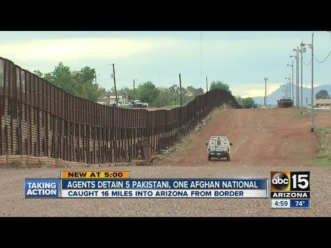 ABC15 Arizona News:  Agents detain 5 Pakistani, one Afghan National