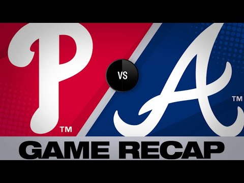 McCann's Walk--off Seals 8th Straight Win | Phillies-Braves Game Highlights 6/14/19