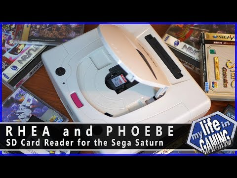 Rhea and Phoebe: SD Card Reader for the Sega Saturn :: Tips & Tweaks - MY LIFE IN GAMING