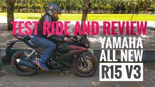 Video #114 - Test Ride Dan Review Singkat Motor Yamaha All New R15 V3 2017 MP3, 3GP, MP4, WEBM, AVI, FLV Oktober 2017