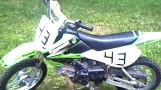 4. Kawasaki KLX 110