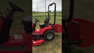 1. Simplicity Legacy XL 4WD  with loader and belly mower