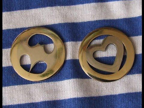 Брелки из монет видео