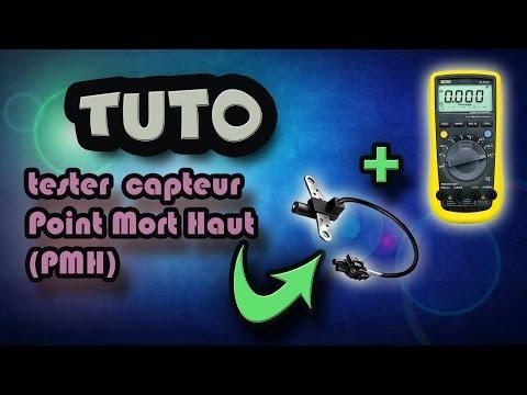 video tuto tester capteur point mort haut pmh how to test top dead center sensor tdc. Black Bedroom Furniture Sets. Home Design Ideas