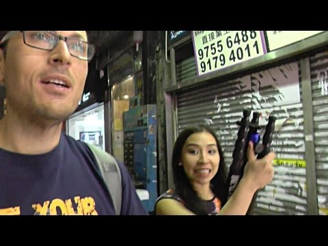 Hung over in Hong Kong - siteseeing, shooting and eating