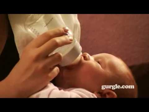 How to bottle feed a baby correctly
